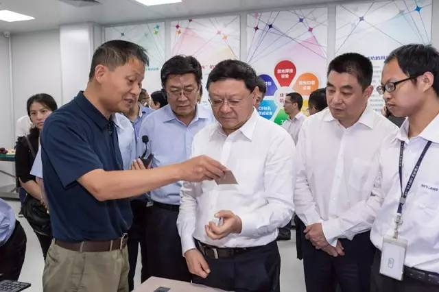 廣東省委常委、深圳市委書記王偉中率隊到大族激光調研座談