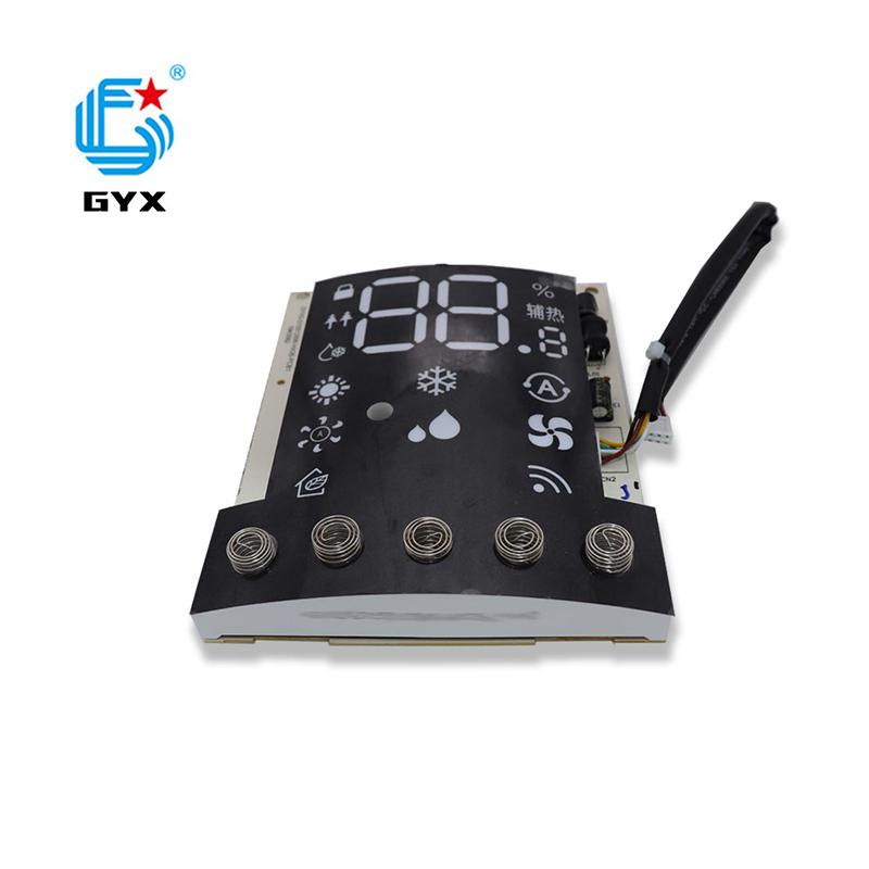 空調用PCBA加工雙8LED數碼管大小家電控制板帶顯示