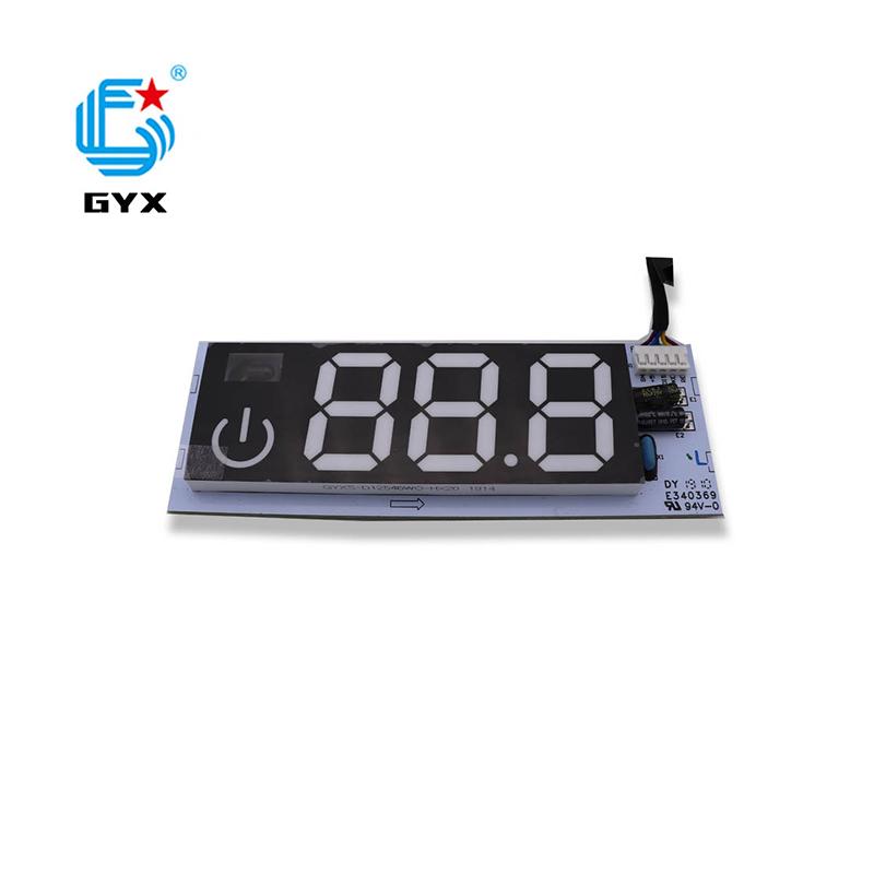帶3個8顯示LED數碼管PCBA加工定制大小家電控制板