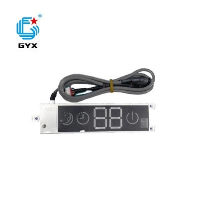 帶2八數大小家電控制板PCBA加工帶顯示LED數碼管