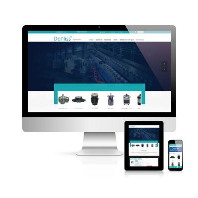 丹力斯液压马达-外贸网站建设