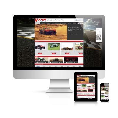 维卡实业-遥控车模网站建设