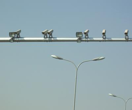 電子警察燈杆