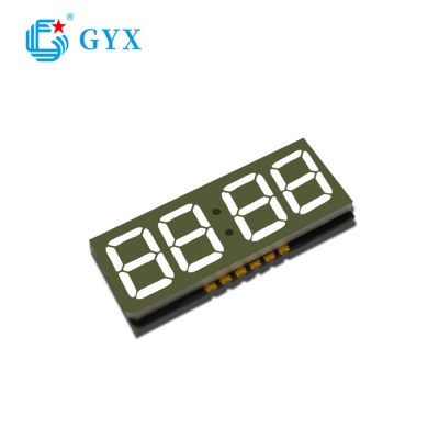 consumer electronics 4 bit 8 led digital display GYXS-8888