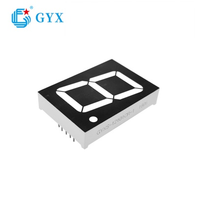 High light white color 7 segment smd led display GYXS-SMG135-6