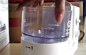 鱼跃超声雾化器402AI使用方法介绍