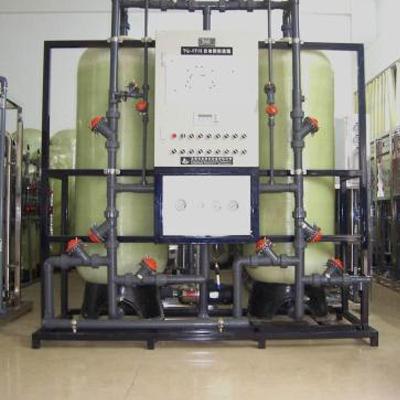 浮动床离子交换器