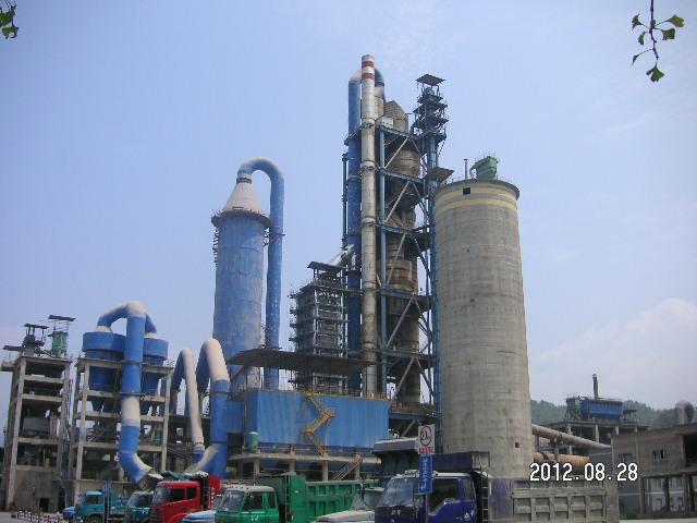 水泥厂脱硝-重庆开州水泥有限公司