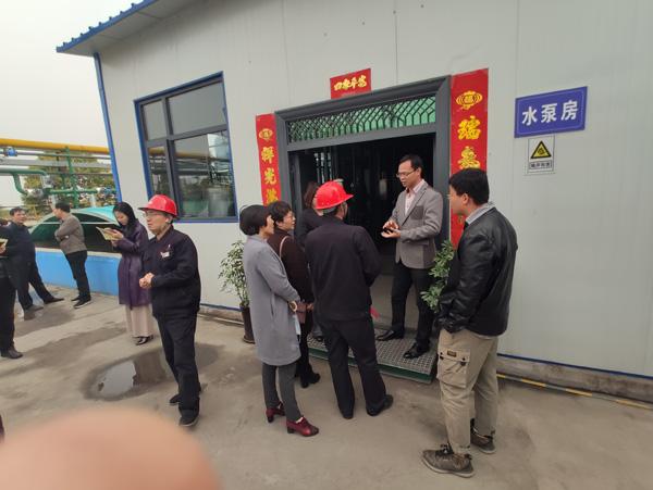 国家绿色工程验收组对河南京宝...