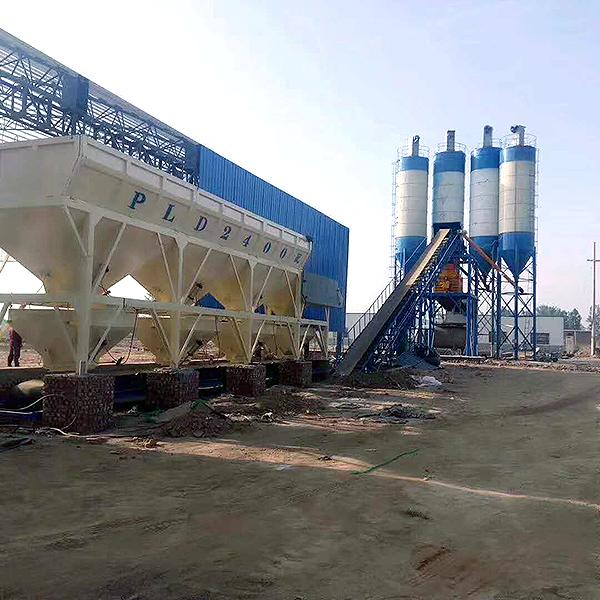 中泰重工HZS60型混凝土搅拌站