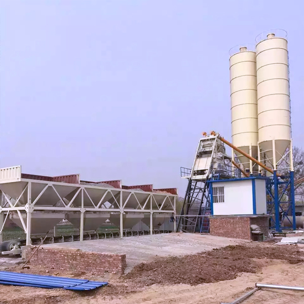 中泰重工HZS75型混凝土搅拌站