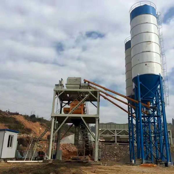 中泰重工HZS90型混凝土搅拌站