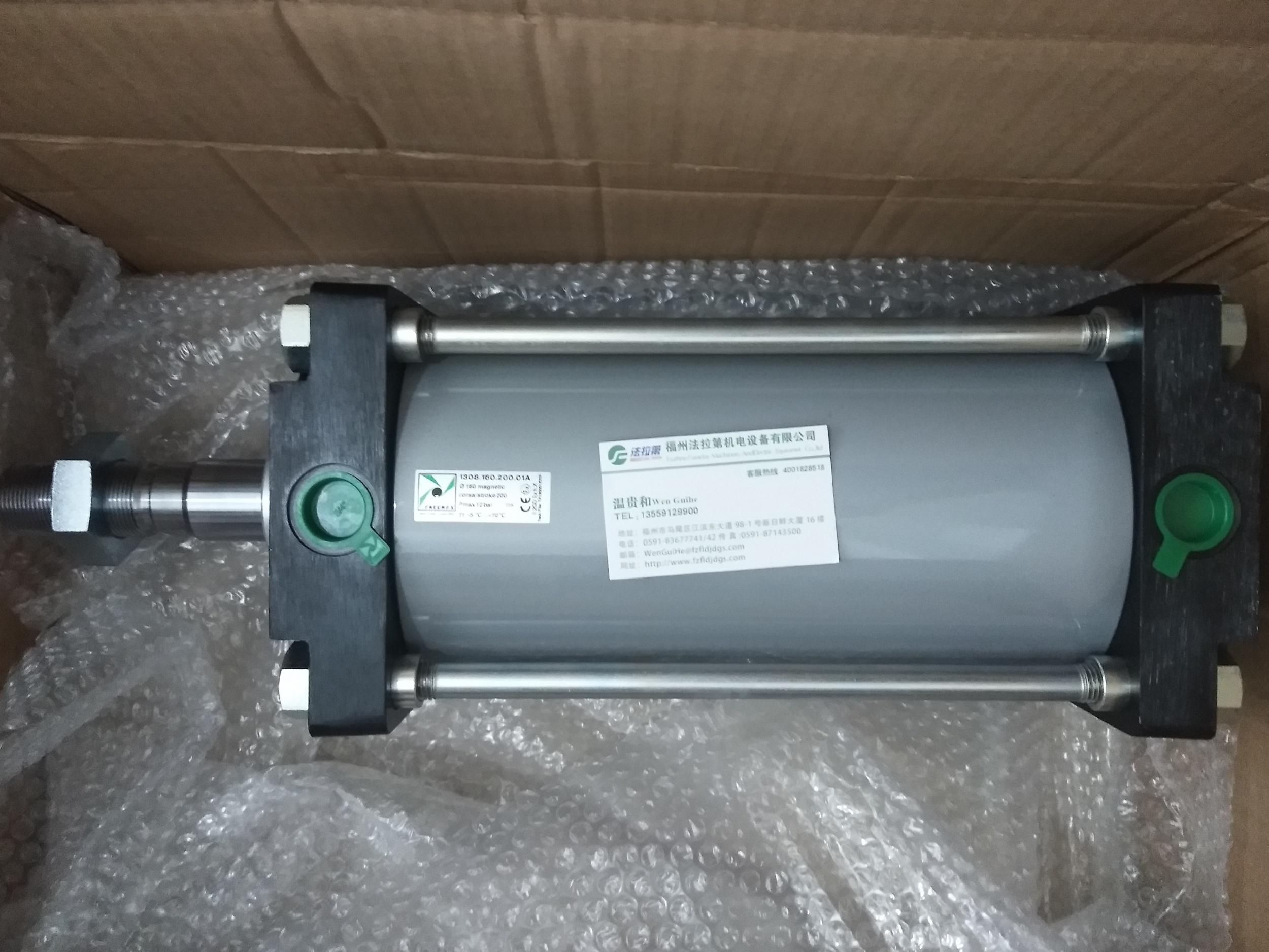 PNEUMAX气缸1308.160.200.01A  2021年6月上旬到货