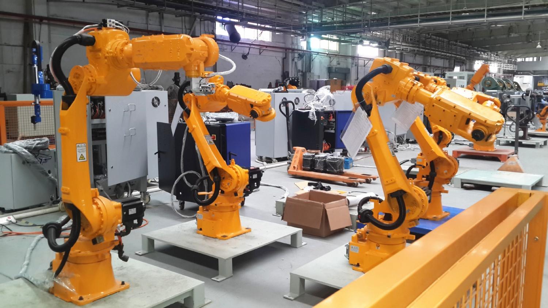 非标定制工业六轴焊接机器人本体机械手自动化设备