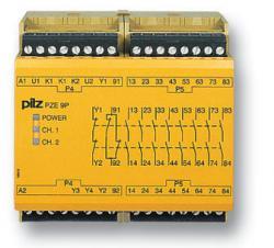 PILZ皮尔磁PZE 9P—瞬时触点扩展模块