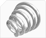 VANEL圆锥形压缩弹簧