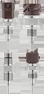 jumo久茂VIBROtemp拧入式热电阻-插头式连接器(902040)