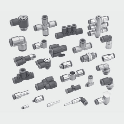 METAL WORK麦特沃克推入式接头,肘型,T形,十字型