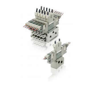 CKD带压力传感器的先导式3・5通阀4GB※R