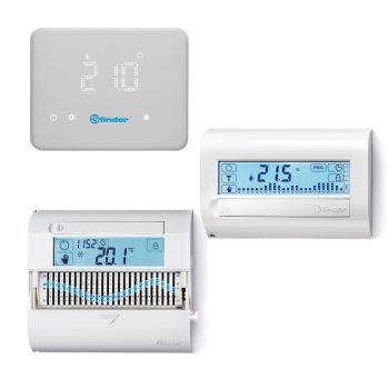 finder芬德室内温控器-可编程室内温控器