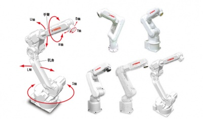 YAMAHA雅马哈工业机器人,垂直多关节6轴及7轴机器人YA系列