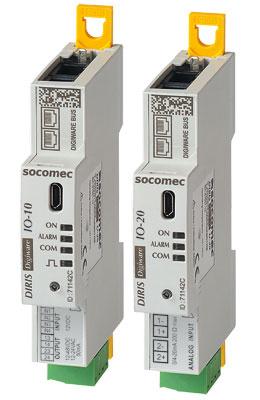 SOCOMEC DIRIS Digiware IO 数字和模拟输入/输出模块
