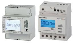 SOCOMEC COUNTIS E2x三相有功电度表——直连63/80 A