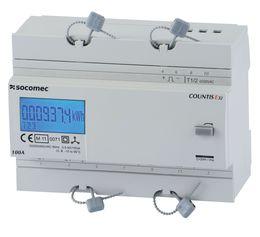SOCOMEC COUNTIS E3x三相有功电度表——直连100A