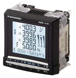 SOCOMEC DIRIS A-30/A-41多功能电力计量和监控设备 - PMD电能监测