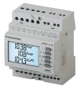 SOCOMEC DIRIS A-10多功能电力仪表 - PMD 模块化多功能电力计量仪