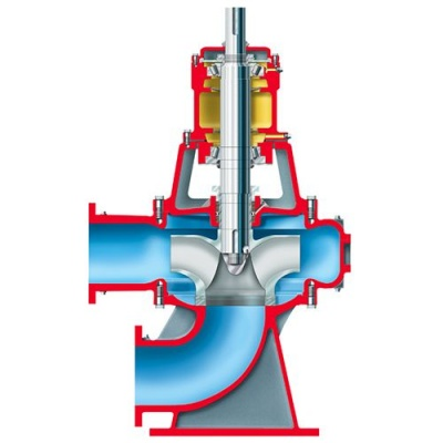 Flowserve 固体处理泵 - MN和MNV