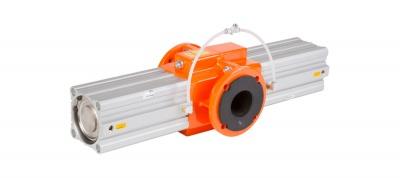 AKO OV系列软管夹管阀,机械操作,单作用(弹簧力关闭),双面关闭