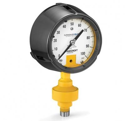 ASHCROFT 酸质泄漏监测隔膜压力仪表(ALD)