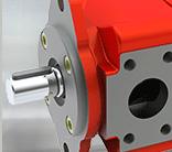 BUCHER布赫 内啮合齿轮泵QXEH –一级齿轮最高280 bar