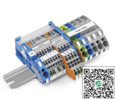 WAGO万可 TOPJOB® S电气安装用轨装式接线端子