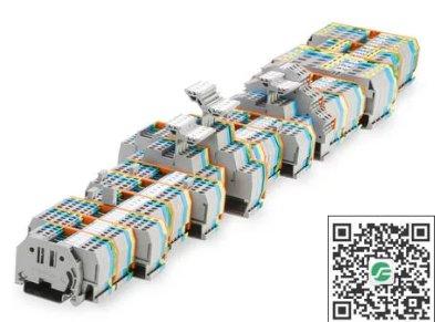 WAGO万可 传统轨装式接线端子