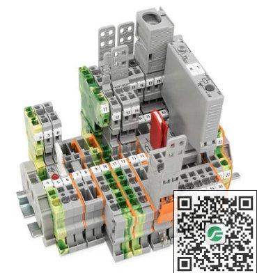 WAGO万可 X-COM®-SYSTEM接插式轨装接线端子WAG