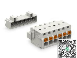 WAGO万可 接插式连接器