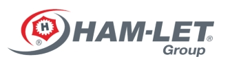 HAM-LET,以色列HAM-LET哈姆雷特工业阀,截止阀,执行器,快速接头,仪表阀门,过滤器,压力表,软管,计量阀,减压阀,超净阀,高温针阀