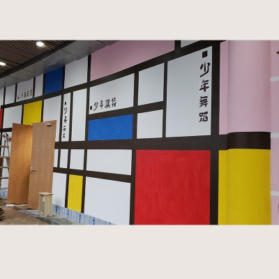 东莞幼儿园墙绘 少儿培训机构墙绘 学校墙绘 涂鸦墙绘