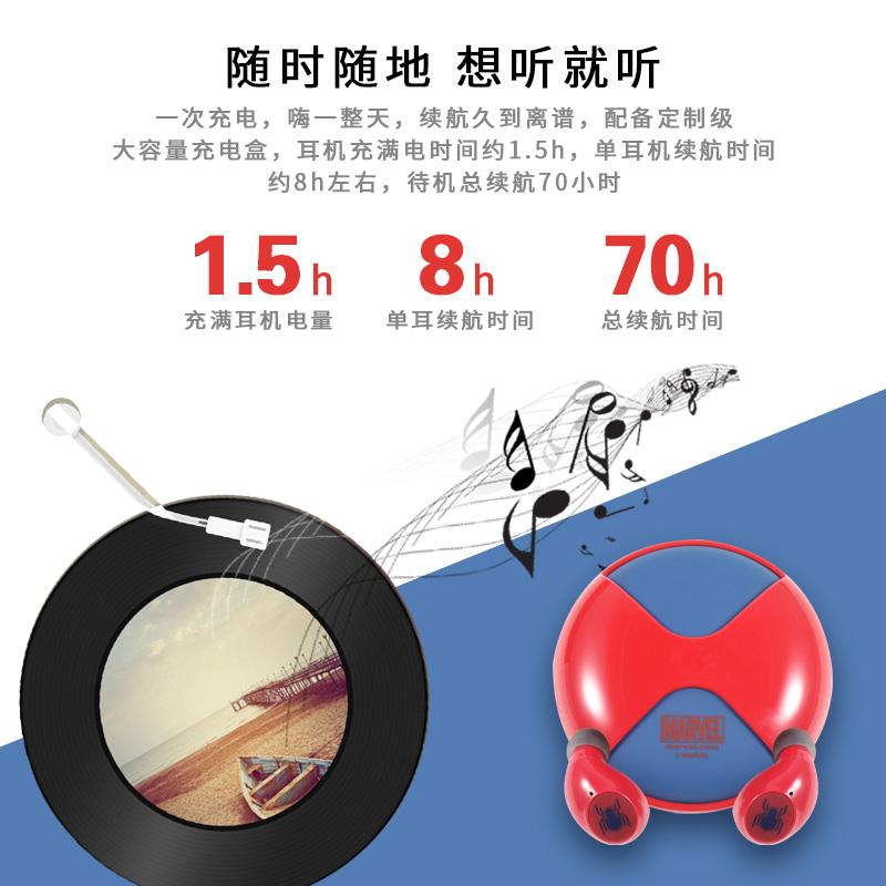 漫威耳机品牌合作 电商设计 广告设计