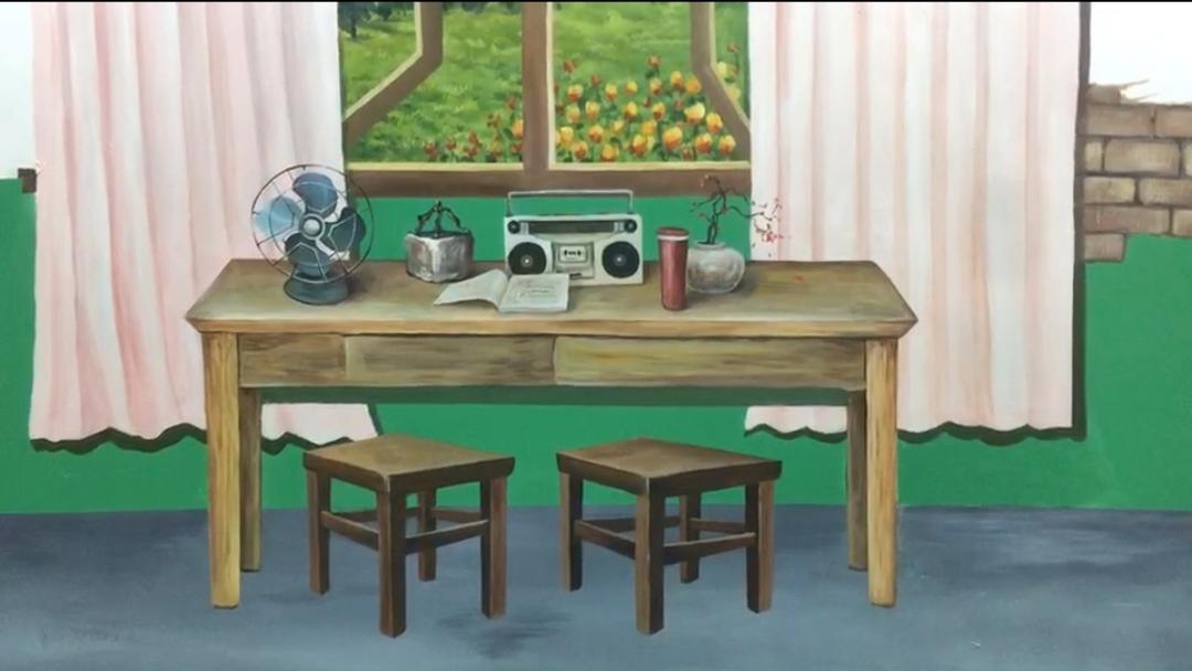 小学学校课室墙体彩绘和操场墙绘 学校墙绘