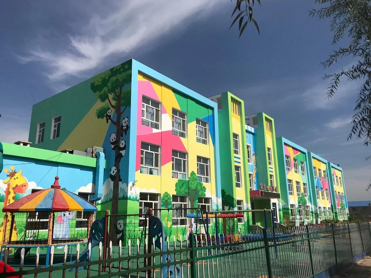 幼儿园墙绘 少儿培训机构墙绘 学校墙绘 涂鸦墙绘