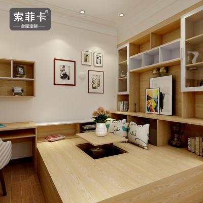 日式简约书房