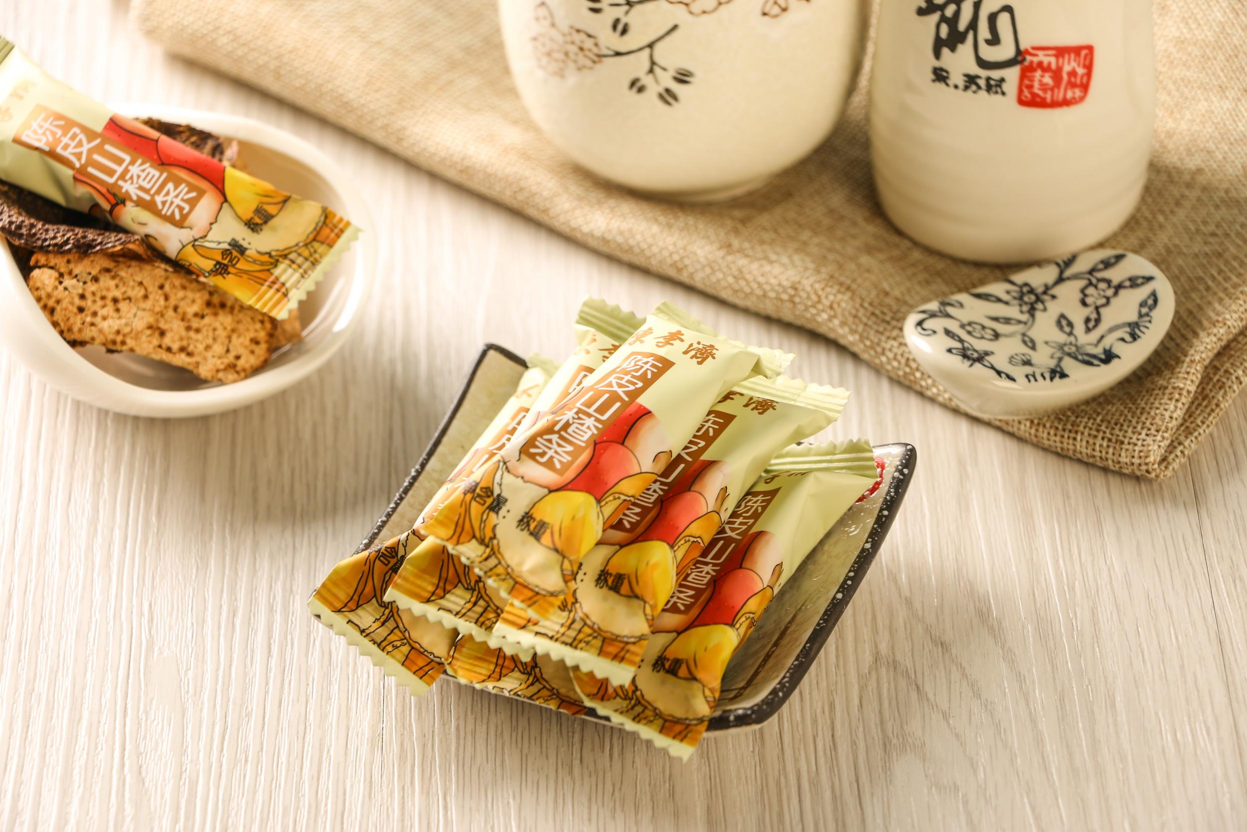 《陈李济陈皮桑葚山楂条—酸甜可口  开心开味》