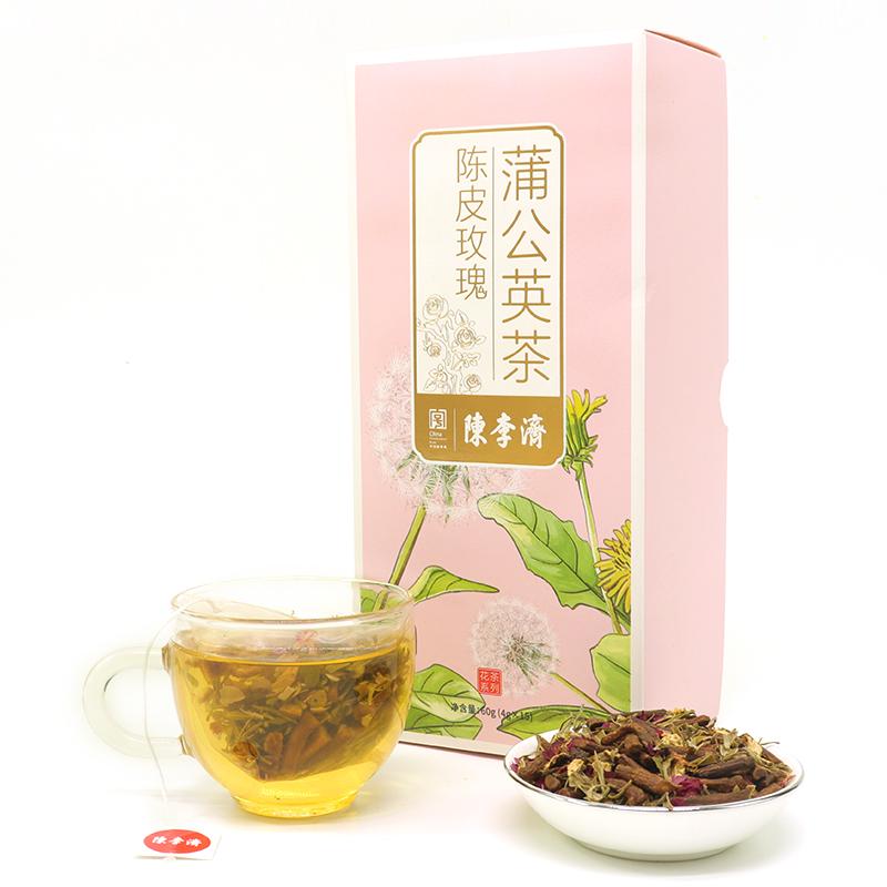 陈皮蒲公英花茶