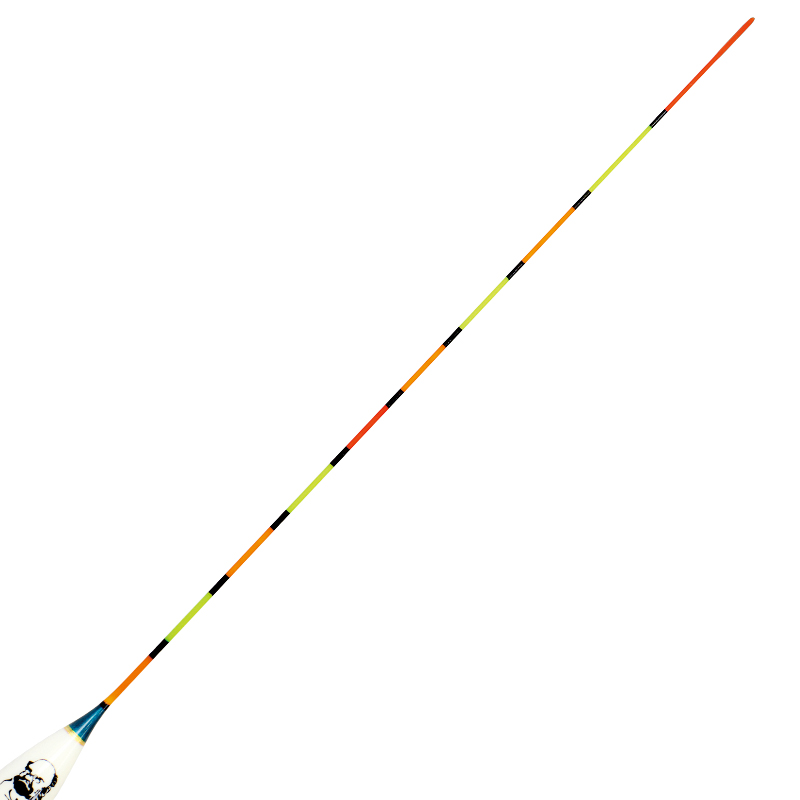 达摩浮漂KC17带壳6片孔雀羽长脚短尾枣核型鱼漂10目细硬尾黑坑鲫