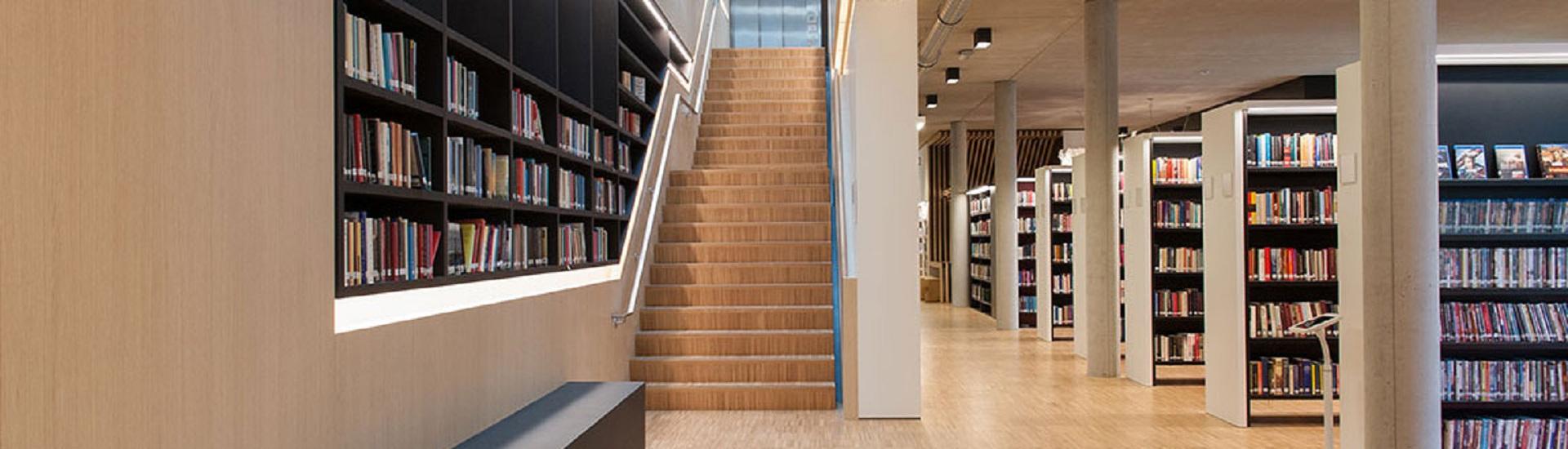 制作图书馆书架找密集架生产厂家