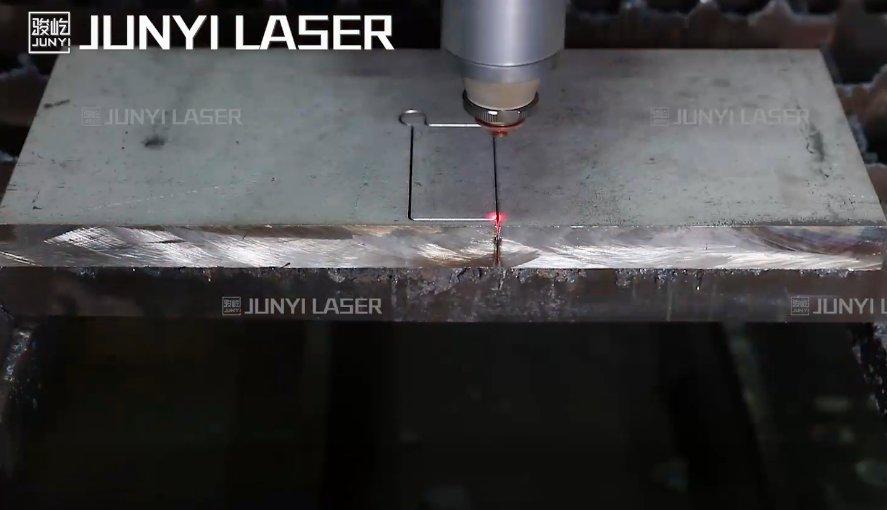 厚板切割●12000瓦切割40mm不锈钢
