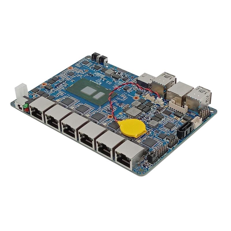 欣曼科技推出3.5寸6网口工控主板